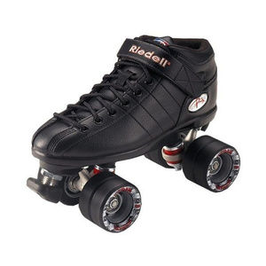 New RIEDELL R3 Speed Roller Skates Size 6 Quads